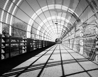 Wired Pathway in Brooklyn, New York City Photography Print, NYC Wall Art