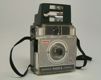 KODAK BROWNIE FIESTA with Flash Camera, Vintage Camera