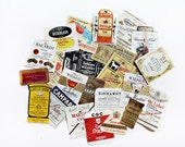 Miniature Liquor Labels, Airplane Bottles or Nips