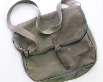 Kumfort Khaki Messenger Utility Bag
