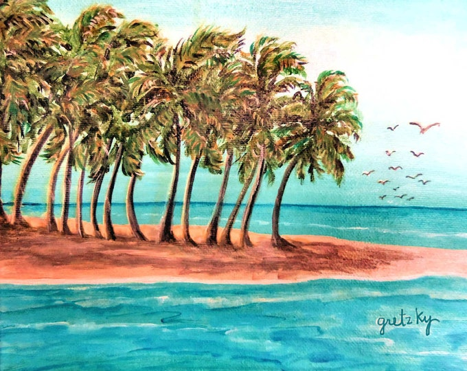 Private Island Custom Painting