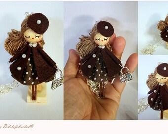 Necklace jewelry doll OOAK