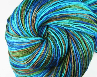 LANIKAI VIEW PART 2  Superwash Merino Light Fingering Weight Yarn for socks and shawls - 822 yds