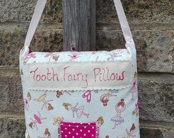 Handmade Tooth Fairy Pillow Ballet Fabric