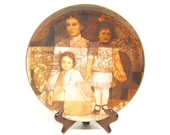 Collectors Plate Tom Heflin Try To Remember Painting Limited Edition
