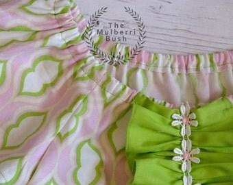 Girls Summer Dress - Pink