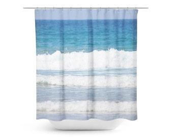 Curtains Ideas beach shower curtain : Beach shower curtain   Etsy