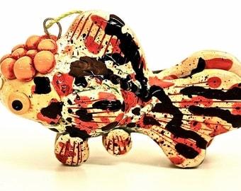 Azuma nishiki Goldfish Christmas Ornament