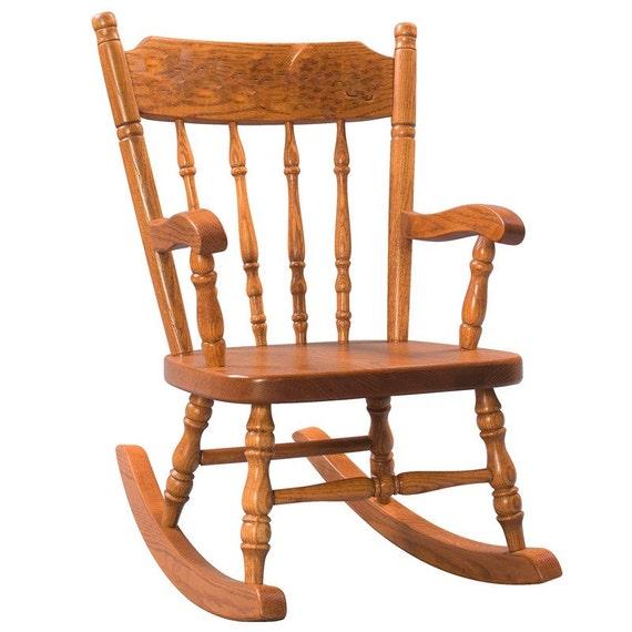 ... Kids Rocking Chair Custom Nursery Furniture Rocker for Children Child
