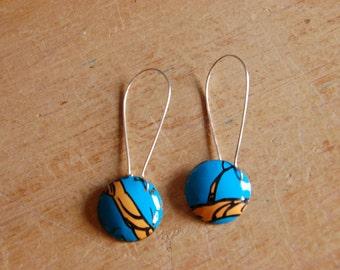 Earrings- Tree Branch Circle Earrings