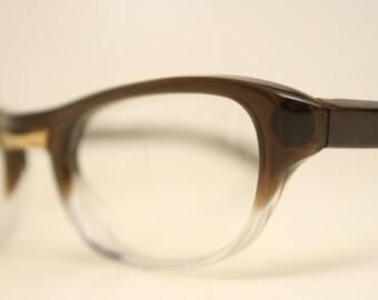 Brown Fade cat eye eyeglasses  vintage cat eye glasses frames Cateye frames