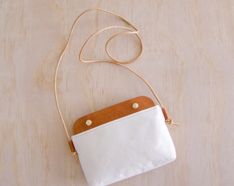 Mallorca Crossbody Bag -  Natural WR