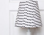 Black Triangles Kids Lamp Shade