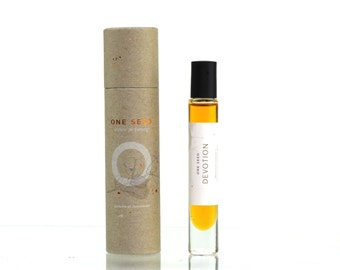 One Seed Devotion Organic Perfume Oil Concentrate Roll On 8ml / .027 fl oz