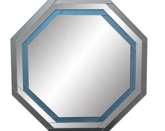Octagon Mirror, Geometric Mirror, Hexagon Mirror, Nautical Mirror, Seaside Mirror, Mirror