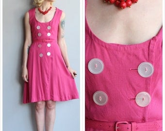 1950s Dress // Lighten Up Dress // vintage 50s dress