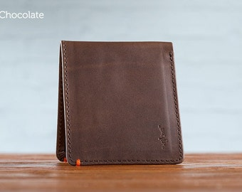 The Classic Journeyman Leather Wallet - Chocolate
