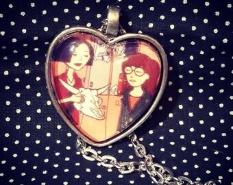 Daria and Jane pendant