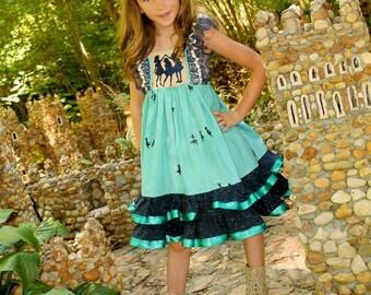 Girls Dress, Girls Fall Dress, Back To School Dress, Ruffle Dress, Boutique Dress, Toddler Dress, Ruffle Dress, Tea Party Dress, Clothing