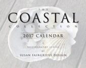 2017 Coastal Collection's Nautical & Beach Wall Calendar