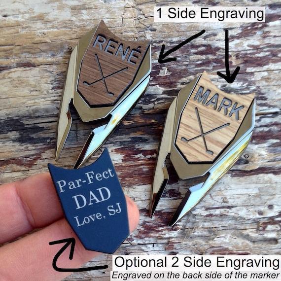 Personalized Golf Ball Marker & Divot Tool - Groom Gift, Groomsmen Gift, Best Man Gift, Gift for Men, Dad Gift, Golf Gift, golf gift for man