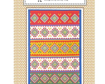 The Americas Quilt Pattern from American Jane Patterns