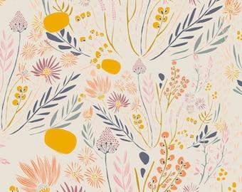 Minky Baby Blanket - Wispy Daybreak - Personalization Available - Toddler Blanket - Floral Baby Blanket