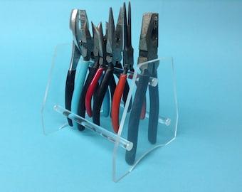 Acrylic plier holder