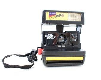 Yellow Polaroid Camera Job Pro 2 - Film Tested Working