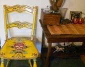 Yellow Spanish Design han...