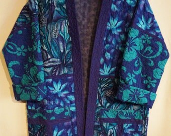 Purple Passion--Quilted Jacket (M)