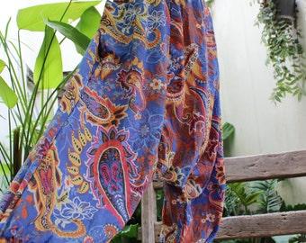 Comfy Roomy Cotton Printed Pants - MLM1610-10
