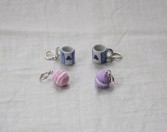 Stitchmarkers - Coffee Break - Mugs & Cakes Stitch Markers