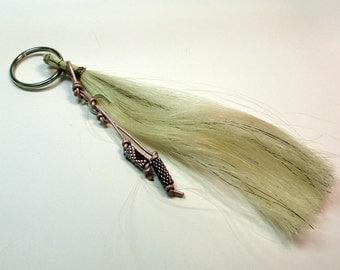 Horse Hair Key ring
