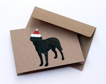 Dog Holiday Card, dog christmas card, dog breed card, christmas card, dog card, dog breed, dog lover, greeting card, card, holiday card
