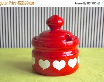 Summersale Vintage German Sugar Bowl From Waechtersbach