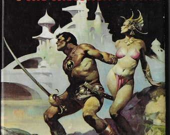 Vintage Sci fi Book - Thuvia, Maid of Mars and The Chessmen of Mars - Edgar Rice Burroughs