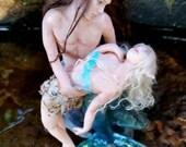 MidDreamers Ooak Merman Marcus and Dragonfly fairy Myah