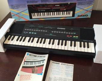 Mint Casio MT-240 Keyboard Midi Synthesizer Circuit Bending 1980s In Box