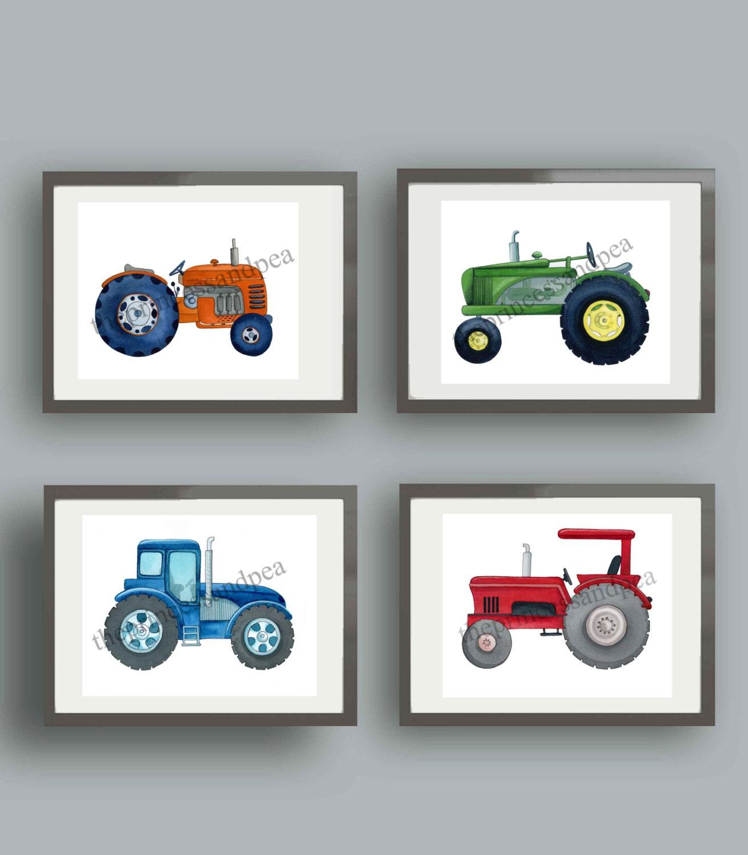 Tractor Wall Art Elitflat