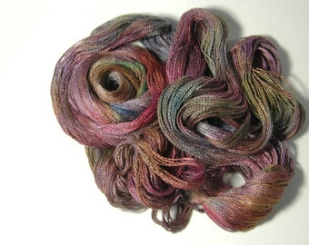Silk Baby Camel Lace in Kaleidoscope - One of a Kind