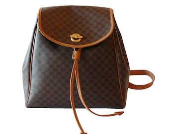 Authentic Celine Paris Macadam Backpack Made in Italy