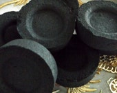 Charcoal disc - 10 pack, charcoal resin burning, charcoal, hookah charcoal, Incense charcoal