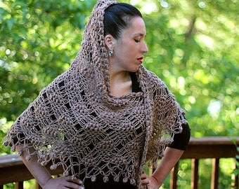 CROCHET PATTERN: Flamenco Shawl - Permission to Sell Finished Product