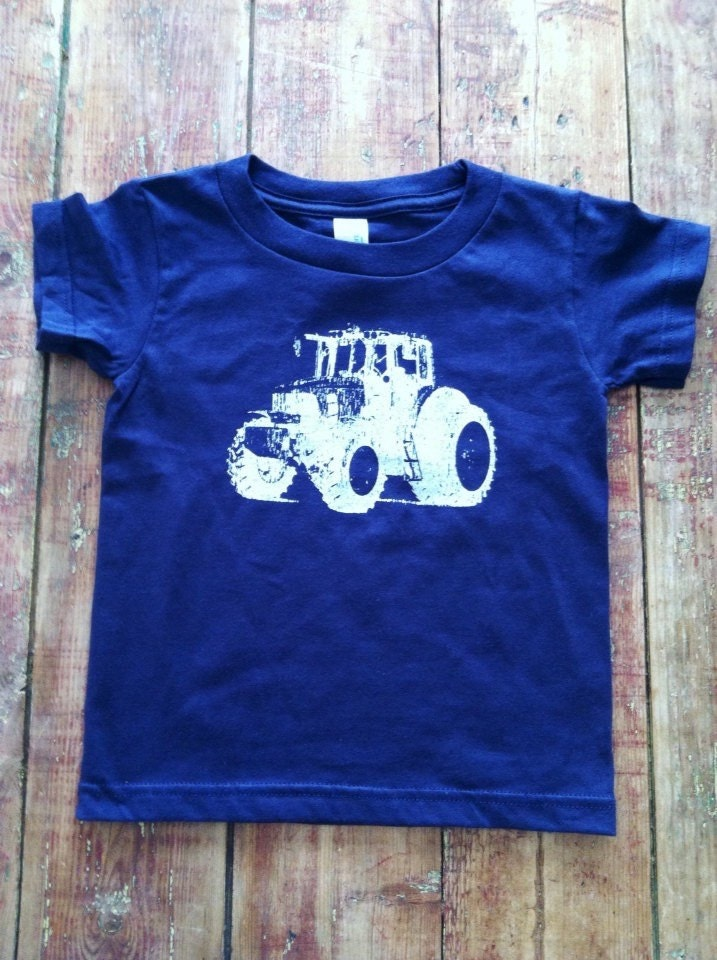 Tractor Shirt Birthday Tshirt Farm Truck