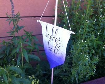 Custom Yard Game Banner Signs for Weddings & Parties!