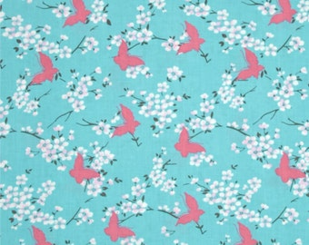 Tanya Whelan for Free Spirit - CHLOE - Butterfly in Sky - Cotton Fabric