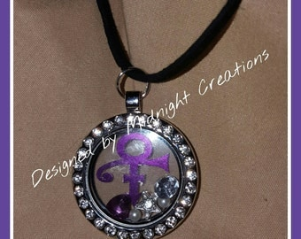 Floating Prince Charm necklace (one of a kind/my design)
