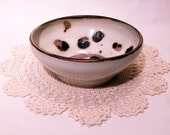 Vintage Small Animal Print Ceramic Bowl