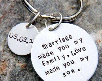 SALE Gift For Stepson - Gift For Son In Law - Stepdad Gift - Stepson Wedding Gift - Son In Law - Wedding - Son Gift - Stepmom